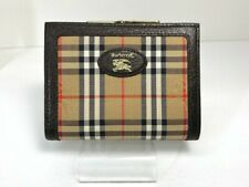 Authentic Burberry Nova Check Beige Bifold Wallet 57813833