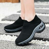 Shoes Walking Sneakers Sock Breathable Casual Running Mesh Womens Athletic Gym