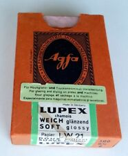 Germany Agfa Vintage Box for Photo Paper-Lupex Lw-21 Empty