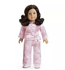 New with out box-  American Girl Ruthie's Pink satin Pajamas and Slippers, PJs