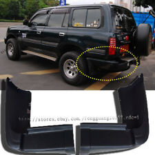 2p for Toyota Land cruiser LC80 FZJ80 ABS black Rear Bumper Spats Caps 1990-1997