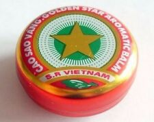 """""""Gold Star"""" Unique Vietnamese Balm ointment treating: headache itching dizziness"""