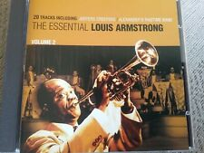 the essential louis Armstrong volume 2 cd freepost in very good condition