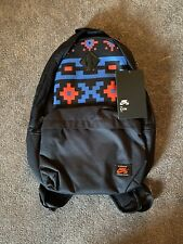 "Nike SB Icon Backpack Blue / Red Aztec Print 15"" Laptop Bag BA6415-475 Brand New"