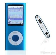 Blue Versatile MP3/MP4 Player with a Micro SD Card, Support Photo Viewer, Mini