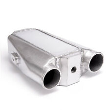 """Aluminum Water To Air Turbo Universal Intercooler Front Mount 9.5"""" X 11"""" X 3.5"""""""