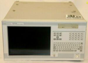 HP Hewlett-Packard 16702A Logic Analysis System hs