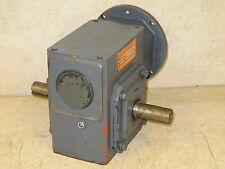 SPEED REDUCER,  BROWNING,  15:1 RATIO,  56C,  1252 INCH POUNDS,  DUEL OUT PUT