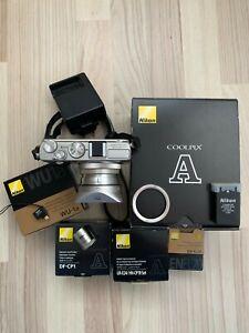 Nikon COOLPIX A 16.2MP Digital Camera - Silver