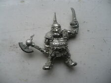 Citadel Warhammer classic 90s Ogre with Axe and Spike oop