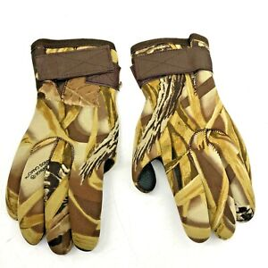 Whitewater Outdoors Mens Camouflage Hunting Outdoor Sport Camo Gloves Large L