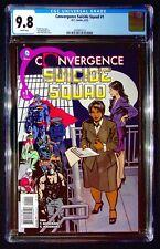 Convergence Suicide Squad #1 CGC 9.8 Tieri Mandrake  Leon