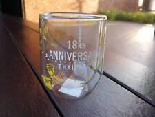 Starbucks Mug Joyful 18TH Anniversary Crystal Glass DW 8 Oz Coffee Thailand