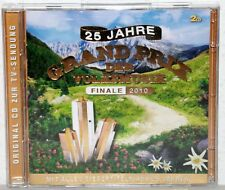 CD 25 Ans Grand prix de la musique populaire-Finale 2010