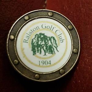 Ralston Golf Club Ball Marker