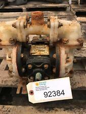 "Sandpiper S052K2TPN5000 1/2""/1"" Air Operated Diaphragm Pump 0-14 GPM, Kynar PVDF"