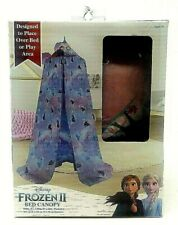 Disney Frozen 2 Bed Canopy Tent Princess Elsa Anna Purple Lilac 100 x 130 x 15in