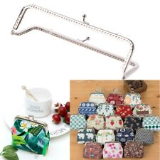 1PC Square Metal Frame Kiss Clasp For Handle Bag Purse Accessories DIY 18cm