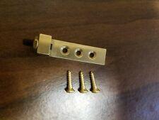 Tremolo stopper super sized brass tremolo stopper / stabilizer with  hardware
