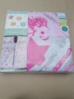 Next Girls Toddler Bedding-Duvet Cover 2 PACK SET Pink Sequin Unicorn Design