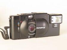Olympus XA Vintage Rangefinder 35 mm Camera Zuiko 2.8 Case and Leather Belt Case