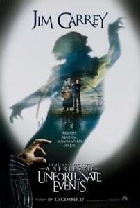 Lemony Snicket's Ein Serie Von Unfortunate Events Original Filmposter