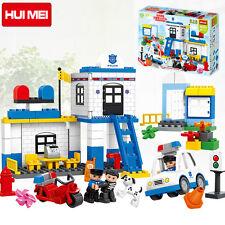 *** 95 Piece Police Station blocks - Lego Duplo Compatible ***