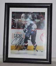 Philadelphia Flyers Simon Gagne Autographed Photo Framed