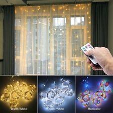3M LED Curtain on the Window USB String Lights Festoon Chrismas Remote Control