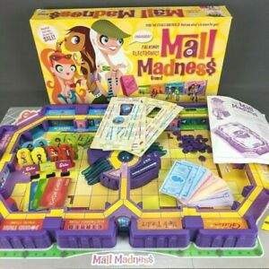 Electronic Talking Mall Madness Board Game 2004 Milton Bradley Complete