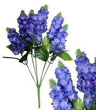 "Lot of 120 Purple Poly Silk 14"" Lilac Wedding Home Decor Craft Silk Flower"