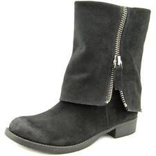 Botas de mujer Nine West de tacón bajo (menos de 2,5 cm) de color principal negro