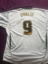 Dion Dublin (Not match worn) signed Norwich City shirt.