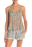 Free People Womens Cora OB828329 Tops Relaxed Green Size XS