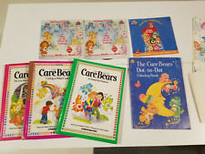 1980s Care Bear Books Records and Other Care Bear Items. Estate Lot