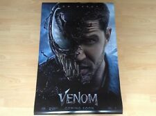 VENOM Movie Poster Double Sided 100 cm x 70 cm. MARVEL COLLECTOR ! NEW !