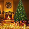 6FT 700 Pines Artificial Christmas Tree Hinged w/ 10M 100 LED Warm White Lights
