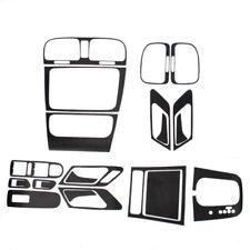 Interior Panel Black Carbon Fiber Dashboard Sticker Set FIT VW GOLF GTI MK6 AT