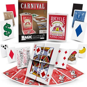 Brand New Magic Trick - Carnival Trick Cards by Magic Makers