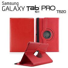 FUNDA PARA TABLET SAMSUNG GALAXY TAB PRO 10.1 T520 GIRATORIA ROJO