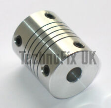 Flexible 6.35mm 1/4in shaft coupler for variable capacitor ATU, VFO, linear etc.