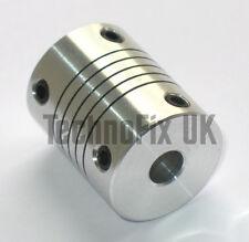 ALBERO flessibile 6.35 mm 1/4in Accoppiatore per condensatore variabile ATU, VFO lineare, ecc.