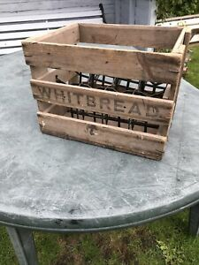 Whitbread Vintage Wooden Beer Crate
