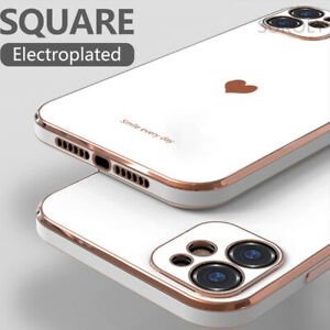 Hülle für iPhone 12 11 Pro Max Mini X XS XR 7 8 SE 2020 Handy Schutz Case Cover