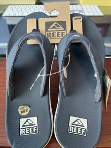 Reef Men's Reef Flip Flop Sandals Vintage Navy Size:13