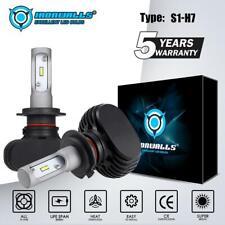 IRONWALLS H7 CSP LED Headlight Kits 2100W 315000LM Bulbs 6000K White Xenon HID