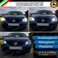 CONVERSIONE FARI FULL LED VW POLO 9N ANABBAGLIANTI ABBAGLIANTI POSIZIONE 6000K
