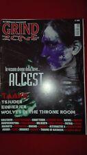 rivista Grind Zone 1/2012 Alcest,Taake,Tsjuder,Einherjer,Solstafir,Farsot