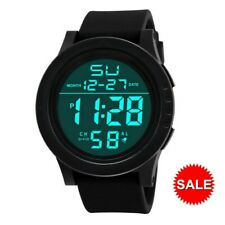 Men's LED Screen Digital Sports Watch Stopwatch Date Military Waterproof Watches