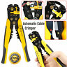 Automatic Cable Wire Crimper Crimping Hand Tool Stripper Adjusting Plier Cutter